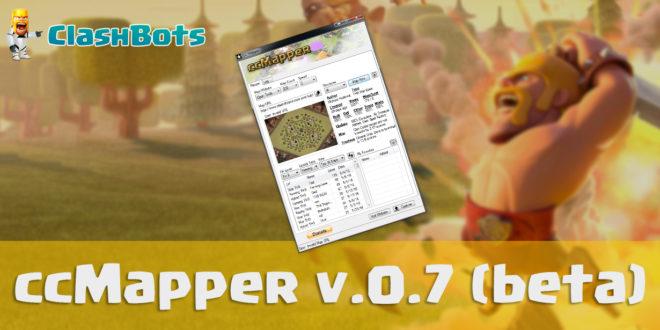 ccmapper 0.7 beta