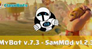 MyBot v.7.3 - SamM0d v1.2.3