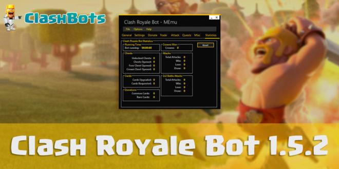 Clash Royale Bot 1.5.2 - лучший бот для Clash Royale